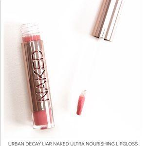 NEW Urban Decay Liar Naked Lipgloss Ultra Nourishi